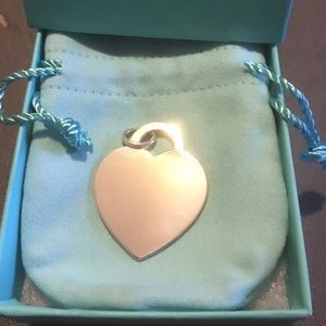 Tiffany & CO authentic silver heart ♥️ charm NWT